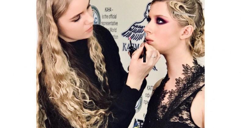 19 лютого 2020 р. вперше в Київській Академії перукарського мистецтва відбувся МАЙСТЕР-КЛАС на тему «КОНКУРСНИЙ МАКІЯЖ»!