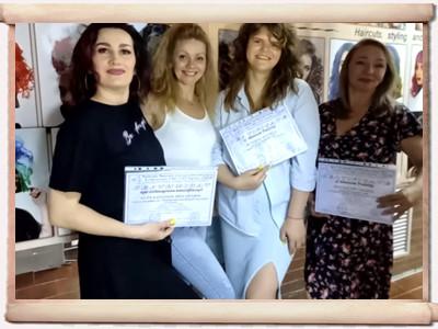 Відгуки випускників курсу «Підвищення кваліфікації перукарів»