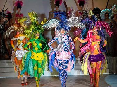 Шоу арт-зачісок, боді-арту та арт-костюмів «Карнавальна феєрія» (2013р.)