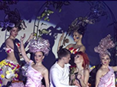 Шоу фантазійних зачісок, фейс-арту і арт-костюмів «Місто-сад» (2012р.)