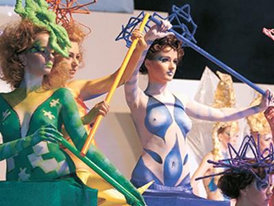 Шоу фантазійних зачісок, боді-арту і арт-костюмів «Загадковий музей» (2011р.)