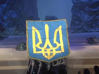 Герб України з волосся - Рекорд Київської Академії перукарського мистецтва