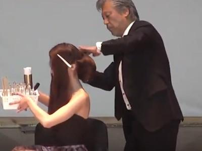 Майстер-клас від Yoshiteru Hirase - топ-маестро зачісок з Японії (Для КАПМ на Фестивалі «Кришталевий ангел» в 2016р.)